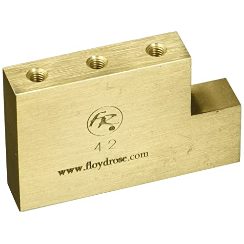 Floyd Rose Fat Brass L Shaped Tremolo Block - 42mm