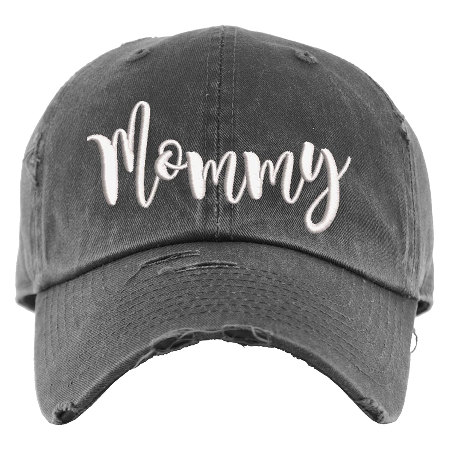 Mommy Hat Distressed Baseball Al sold out. Cap Gift Ponytail OR Ranking TOP18