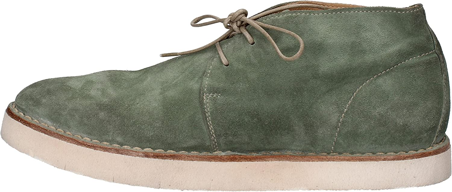 MOMA Oxfords-shoes Womens Suede Green