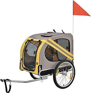 [pro.tec]]]]]® Remolque de Bicicletas para Perros -