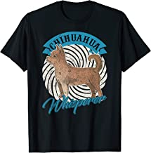 Vintage Chihuahua Whisperer Gift Puppy Pet Dogs Lover Funny T-Shirt