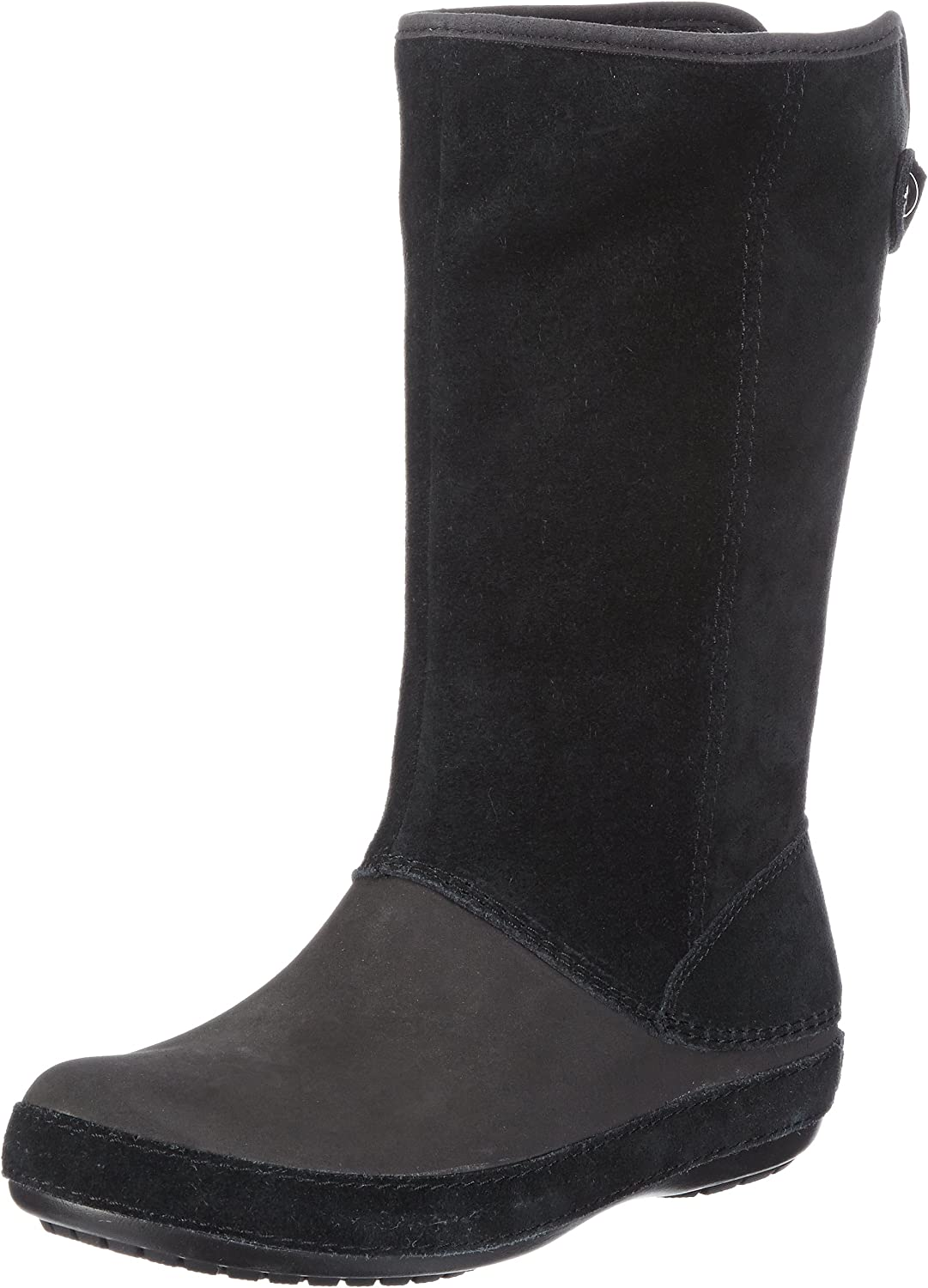 Crocs Women's Berryessa Tall Suede Boot