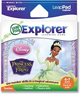 LeapFrog Explorer Disney The Princess and The Frog Learning