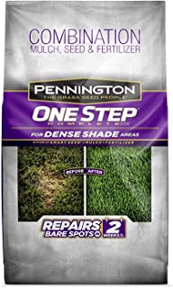 Pennington 100520284 One Step Complete Bare Spot Repair Grass Seed Mix for for Dense Shade Areas, 8.3 lbs (2 Pack (8.3 lbs))