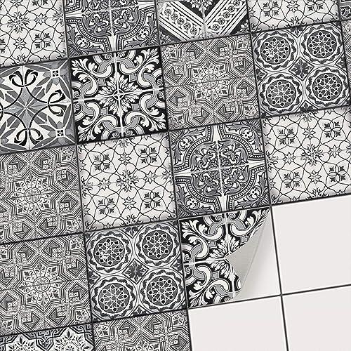 Papier peint salle de bain - Image carrelage cuisine ...