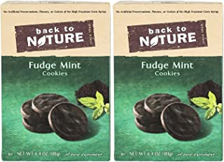 Back to Nature Cookies - Fudge Mint - 6.4 oz - 2 pk