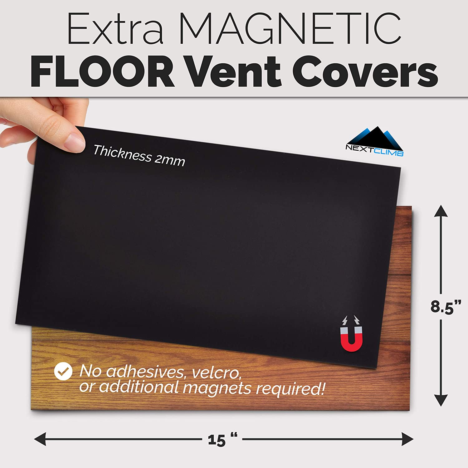 8.5x15 Vent Cover DS Design 1 Pack