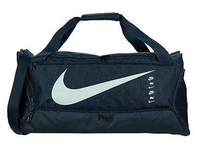Nike Brasilia Medium Duffel Bag 9.0 (Seaweed/Seaweed/Pistachio Frost) Duffel Bags
