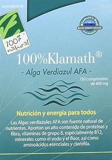 100% natural Alga Verdiazul Klamath Vitaminas - 150 Tabletas