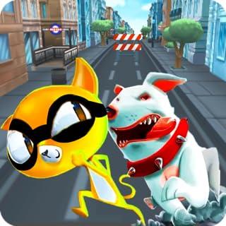 Ninja Cat Game - Cute Pet Subway Surf Cat Rush Online