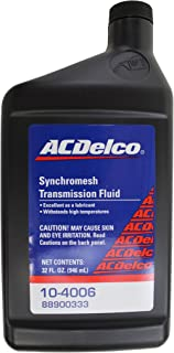 Genuine GM Fluid 88900333 Synchromesh Transmission Fluid - 32 oz.