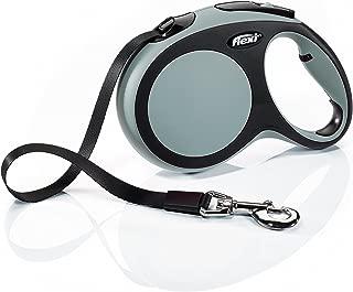 Flexi Comfort Retractable Dog Leash in Grey, 16'