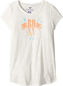 Roxy Kids Tribal Palm Fashion Crew Top (Big Kids)