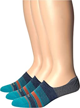 Hidden Stripe Socks 3-Pair Pack