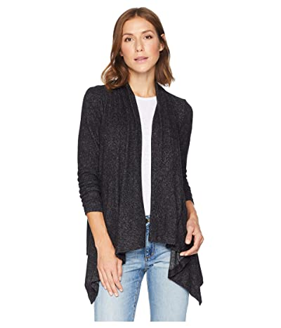 B Collection by Bobeau Amie Cardigan (Raven Black Mix) Women