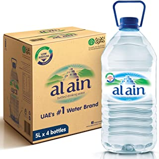Al Ain Bottled Drinking Water - 5 litres (Pack of 4)