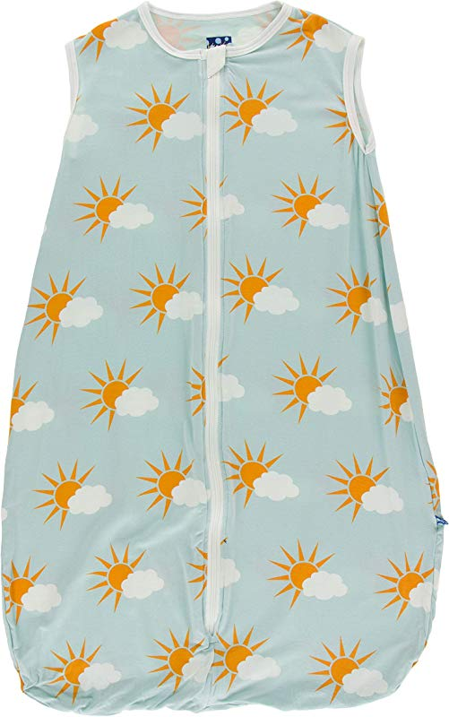 KicKee Pants Print Lightweight Sleeping Bag Geology And Meteorology Collection 18 36 Months Spring Sky Partial Sun