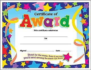 TREND enterprises, Inc. T-2951BN Certificate of Award Colorful Classics Certificates, 30 Per Pack, 6 Packs