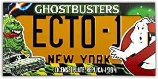 Doctor Collector 8437017951247 Ghostbusters Ecto 1 Nummernschild Nachbildung