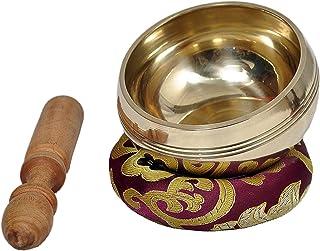 Dharma Store - Tibetan Meditation Singing Bowl - With Mallet & Silk Cushion