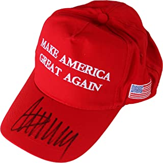 Donald Trump Signed Autographed Make America Great Again Baseball Cap Hat COA