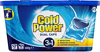 Cold Power Laundry Detergent Capsules, 30 Washes , 600 Grams
