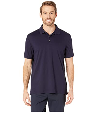 Calvin Klein The Liquid Touch Polo (Cadet Navy) Men