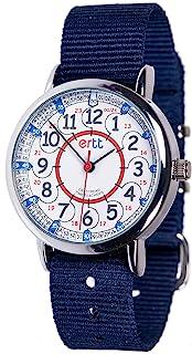 EasyRead Time Teacher Analog Learn The Time Boys Watch Navy #ERW-RB-24-NB