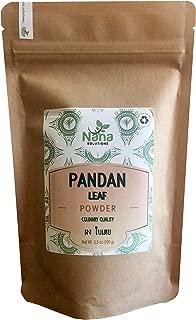 Pandan Leaf Powder | 100% Pure All Natural Culinary Quality | Thai Origin 3.5 oz