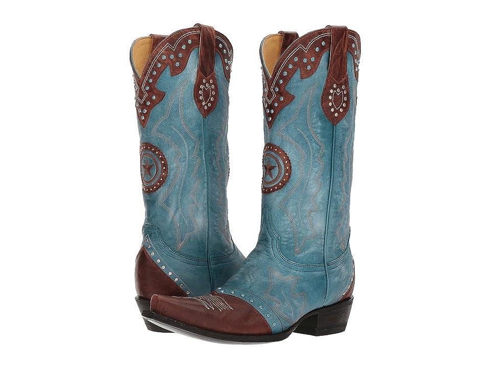 Old Gringo Grafton (Blue/Cognac) Cowboy Boots