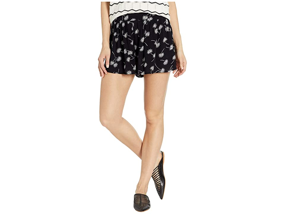 Amuse Society Mojito Short (Black) Women's Shorts