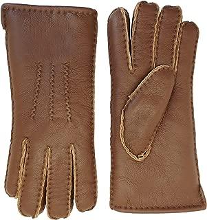 YISEVEN Men's Merino Rugged sheepskin Shearling Leather Gloves