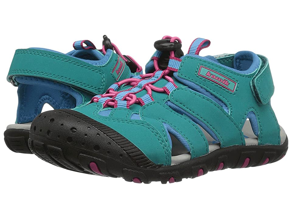 Kamik Kids Oyster 2 (Toddler/Little Kid/Big Kid) (Teal) Girl