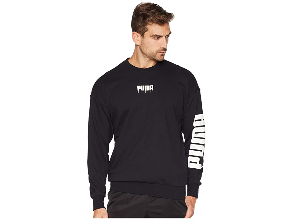 PUMA Super Crew Sound (PUMA Black) Men