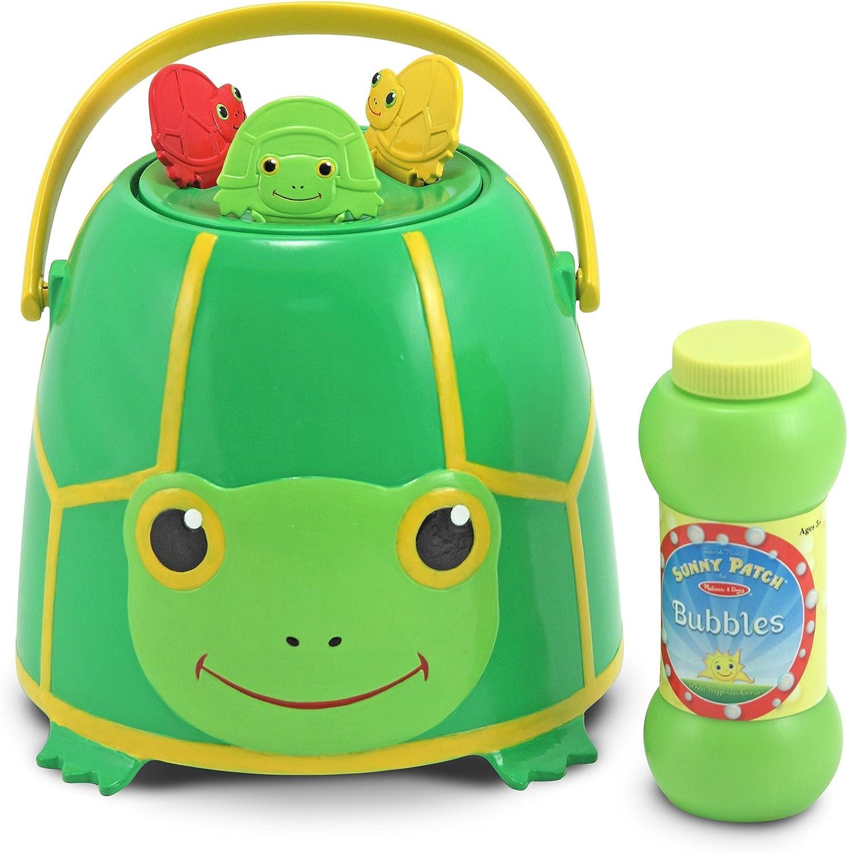 Melissa And Doug Tootle Turtle Bubble Bucket