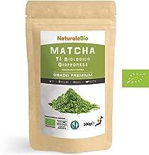 Tè Verde Matcha Biologico in Polvere [ GRADO PREMIUM ] da 100 grammi   The Matcha Prodotto in Giappone Uji, Kyoto   Ideale da Bere, per i Dolci, Frullati, Tè freddo, nel Latte e come ingrediente.