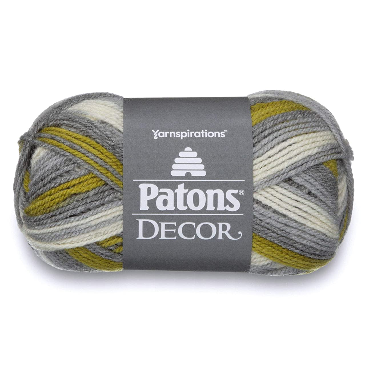 Patons  Decor Yarn - (4) Medium Worsted Gauge  - 3.5oz -  Frond -   For Crochet, Knitting & Crafting