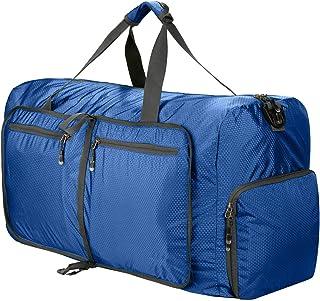 حقيبة دفل للسفر قابلة للطي، 80 لتر، حقيبة دفل قابلة للطي، لحملها على الأمتعة، صالة الألعاب الرياضية، والتخييم، والتخييم، و...