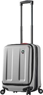 Mia Toro Italy Esotico Hardside Spinner Luggage Carry-on, White, One Size
