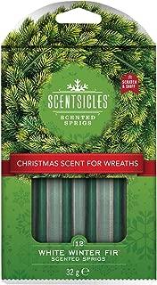 Scentsicles White Winter Fir Wreath Sprigs Stick