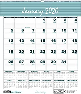 House of Doolittle 2020 Monthly Wall Calendar, Bar Harbor, 6 x 7 Inches, January - December, (HOD330-20)