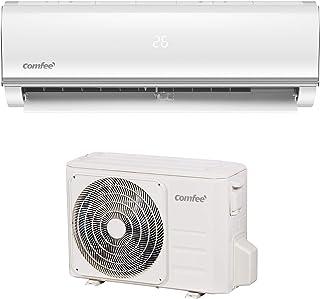 Comfee Split-Klimageräte MSAF5-12HRDN8-QE R32 SET, Leise Festinstallierte Split Klimaanlage für Räume bis ca. 103 m� , 11000 BTU, 3,2 kW, Luftkühlung/luftheizung/Luftentfeuchter, EEK A/A