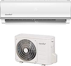 Comfee Split-Klimageräte MSAF5-09HRDN8-QE R32 SET, Leise Festinstallierte Split Klimaanlage für Räume bis ca. 80 m³32 , 8800 BTU, 2,5 kW, Luftkühlung/luftheizung/Luftentfeuchter, EEK A/A