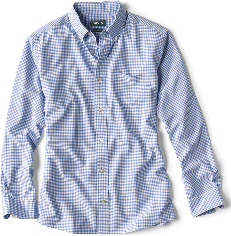 Industry No. 1 Orvis Men's Excursion Long-Sleeved Shirt Japan Maker New