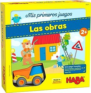 Haba Mesa Mis Primeros Juegos-Las Obras-ESP, multicolor (H305214) , color, modelo surtido