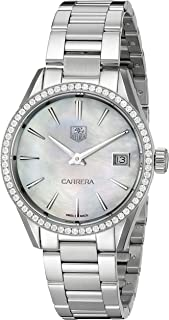 Women's WAR1315.BA0778 Carrera Analog Display Swiss Quartz Silver Watch