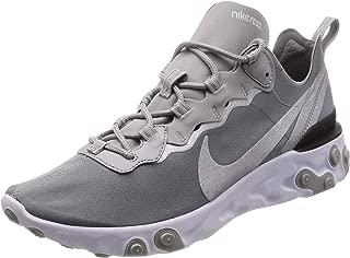 Nike React Element 55 Mens Style: BQ6166-007 Size: 8.5 Metallic Silver