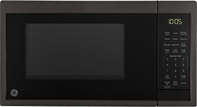 Sponsored Ad - GE Appliances JES1095BMTS GE 0.9 Cu. Ft. Capacity Countertop Microwave Oven, Black Stainless Steel