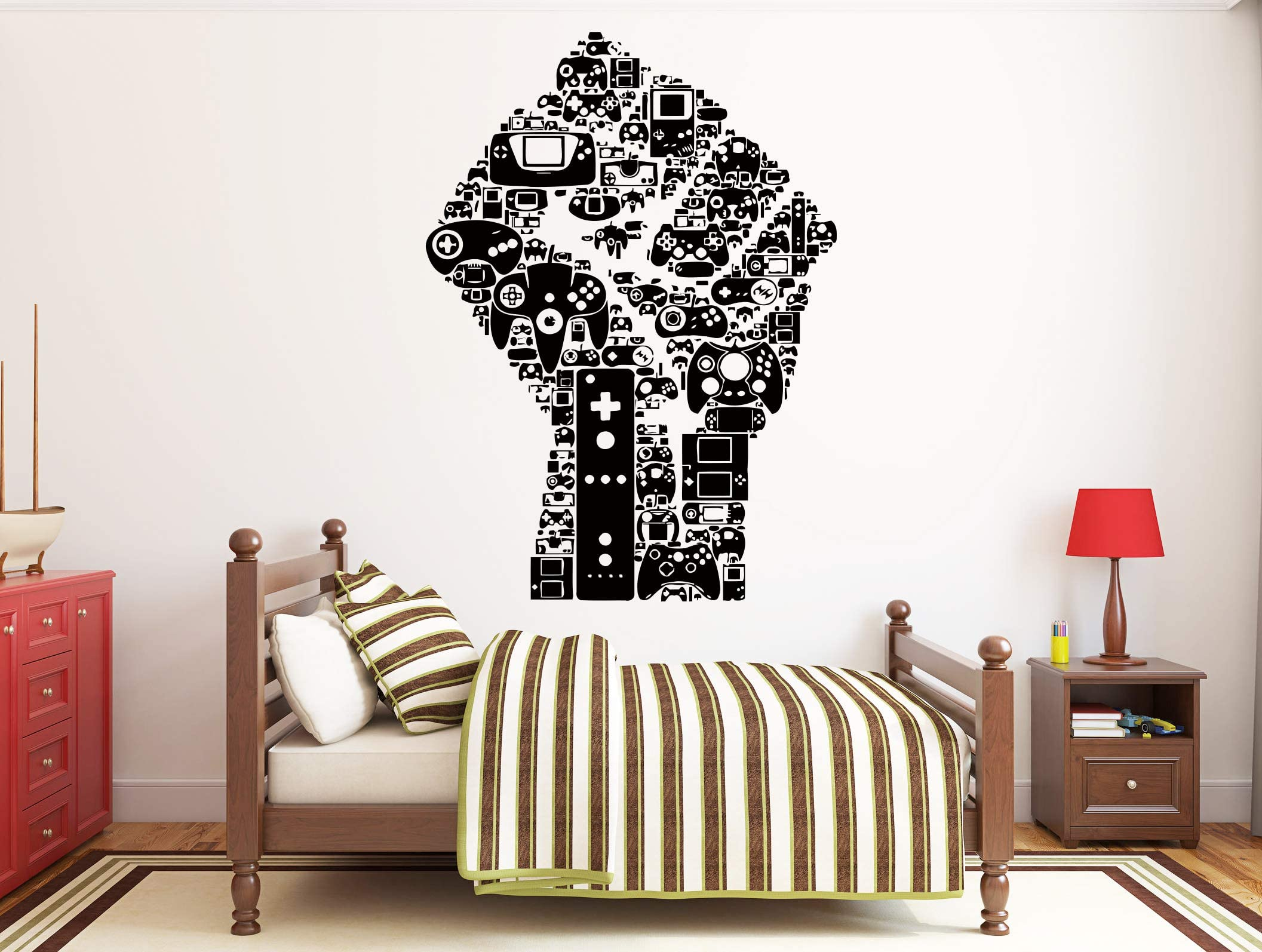 Furniture Decals Chair Wall Decor Floor Lamp Playhouse Decor Sofa Play House Bedroom Wall Decal Home Couch Office Playroom Decor