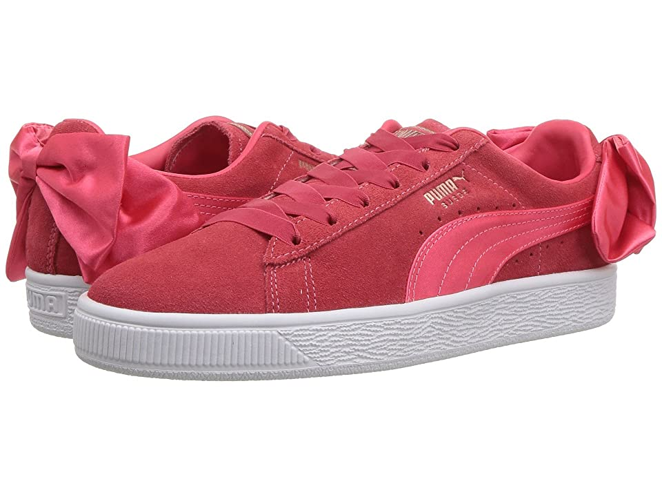 Puma Kids Suede Bow Jr (Big Kid) (Paradise Pink) Girls Shoes
